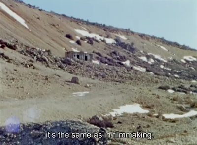 THE ANABASIS OF MAY AND FUSAKO SHIGENOBU, MASAO ADACHI AND 27 YEARS WITHOUT IMAGES, Eric Baudelaire, 2011