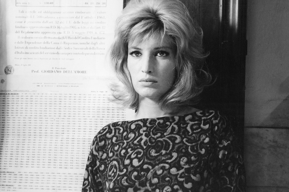 Eclipse (1962 Italy/France) aka L'Eclisse aka L'…clipse Directed by Michelangelo Antonioni Shown: Monica Vitti (as Vittoria)