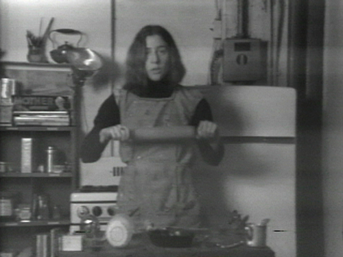 Martha Rosler, Semiotics of the Kitchen (1975)