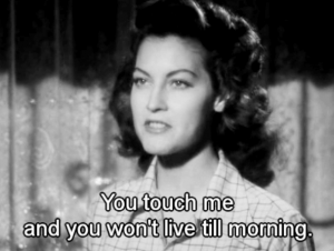 Ava Gardner em The Killers (1946) de Robert Siodmak