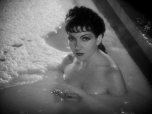 Claudette Colbert em Sign of the Cross (1932) de Cecil B. DeMille