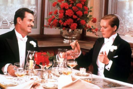 Julie Andrews em Victor / Victoria (de Blake Edwards, 1982)