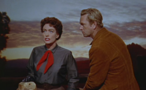 Joan Crawford como Vienna em Johnny Guitar (Nicholas Ray, 1954 )