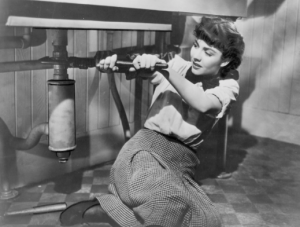 Jennifer Jones em Cluny Brown (de Lubitsch, 1946)