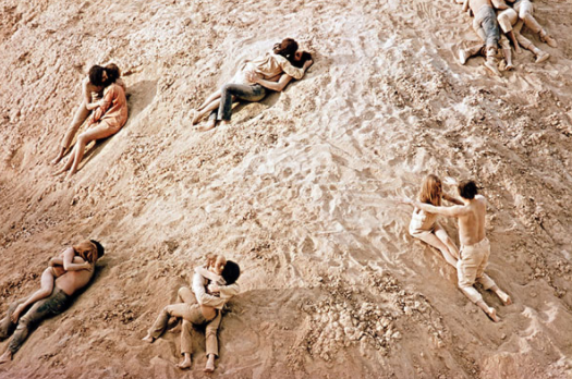 Zabriskie Point, de Antonioni, 1970