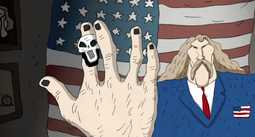Revengeance (2016) de Bill Plympton e Jim Lujan