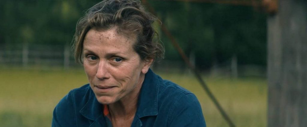 Three Billboards Outside Ebbing, Missouri (Três Cartazes à Beira da estrada, 2017) de Martin McDonagh