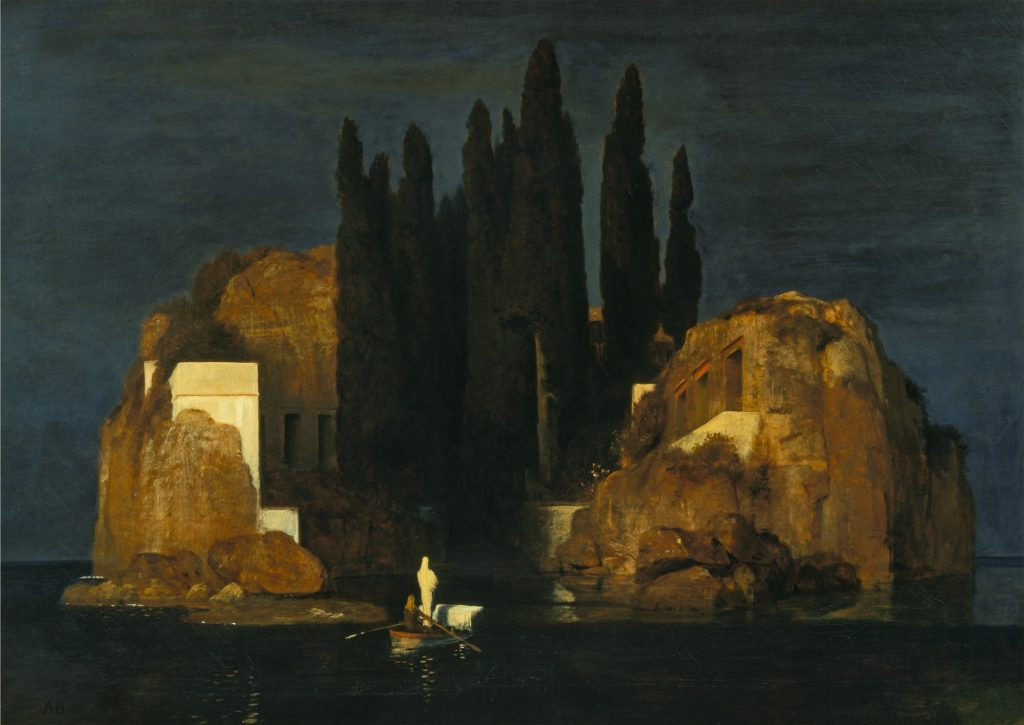 Die Toteninsel (Isle of the Dead, 1880) de Arnold Böcklin